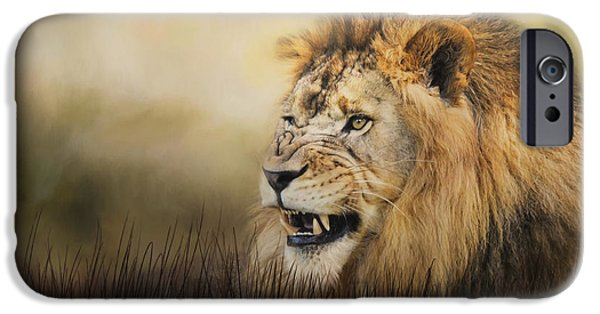 Snarling IPhone Case by Jai Johnson