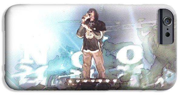Snoop Dogg 2014 Blockfest Tampere City / Finland IPhone Case by Jani Heinonen