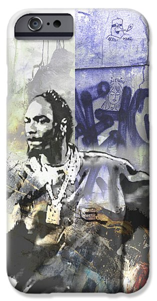 Snoop Graffitti  26 IPhone Case by Jani Heinonen