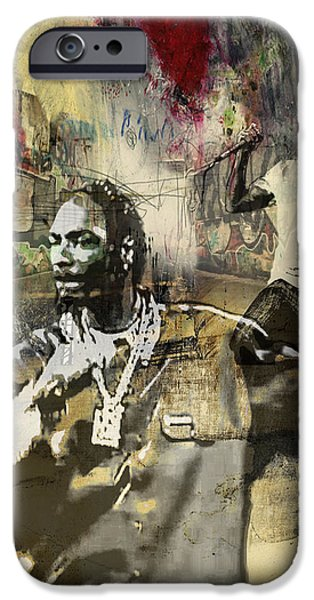 Snoop Graffitti  41 IPhone Case by Jani Heinonen