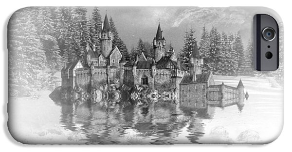 Snow Palace IPhone Case by Sharon Lisa Clarke