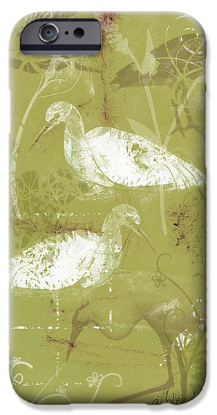 Snowy Egrets IPhone 6s Case by Arline Wagner
