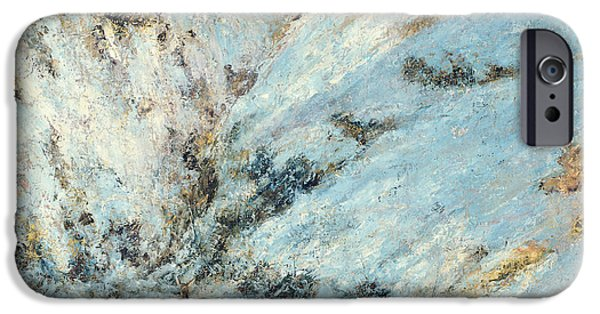 Snowy Landscape IPhone Case by Gustave Courbet