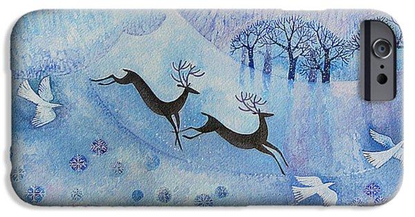 Snowy Peace IPhone Case by Lisa Graa Jensen