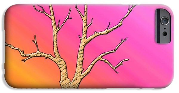 Soft Pastel Tree Abstract IPhone Case by Aimee L Maher Photography and Art Visit ALMGallerydotcom