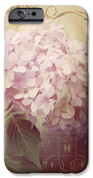 Softly Summer - Hydrangea 2 IPhone Case by Audrey Jeanne Roberts