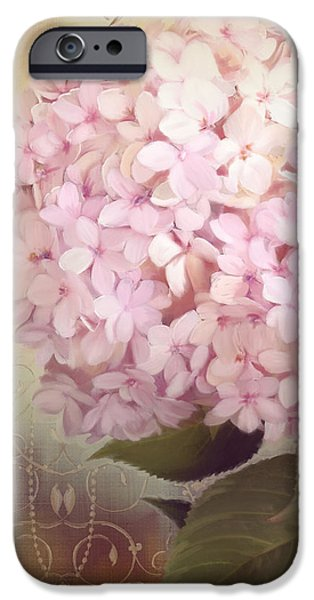 Softly Summer - Hydrangea IPhone Case by Audrey Jeanne Roberts