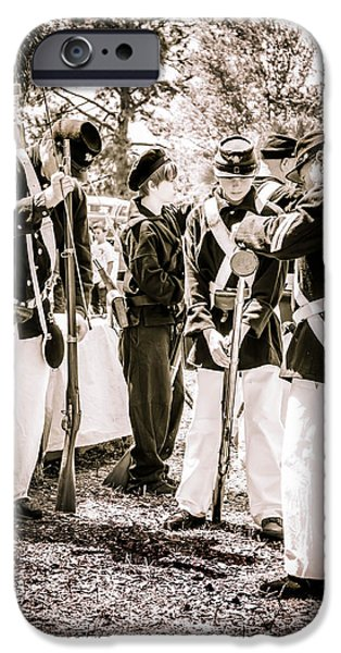 Soldiers At Rest  IPhone Case by Debra Forand
