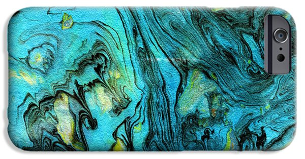 Somewhere New 6- Art By Linda Woods IPhone Case by Linda Woods