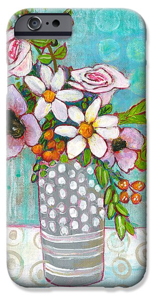 Sophia Daisy Flowers IPhone 6s Case by Blenda Studio
