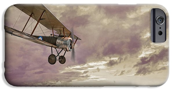 Sopwith Pup Biplane IPhone Case by Amanda And Christopher Elwell