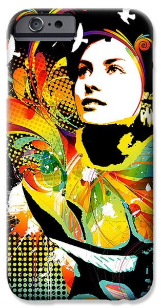 Soul Explosion II IPhone Case by Chris Andruskiewicz