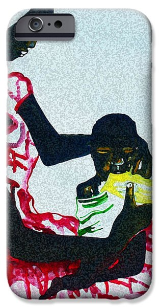 South Sudan War Child  IPhone Case by Gloria Ssali