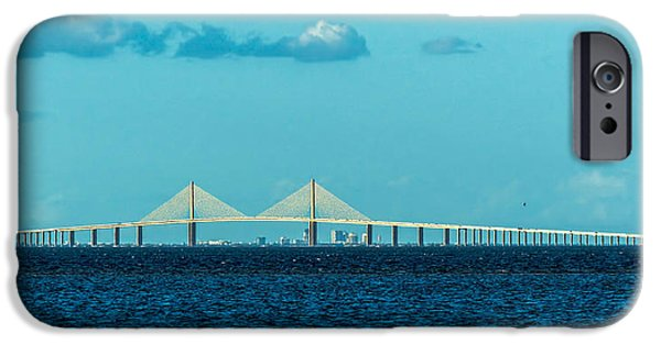 Span Over St. Petersburg IPhone Case by Marvin Spates