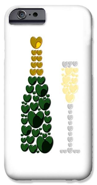 Sparkling Wine IPhone Case by Anastasiya Malakhova