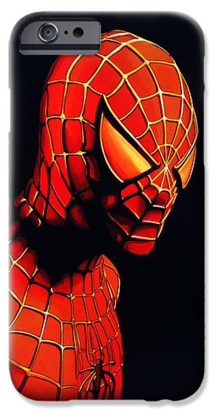 Spiderman IPhone 6s Case by Paul Meijering