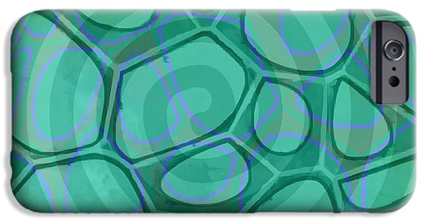 Spiral 3 - Abstract Painting IPhone Case by Edward Fielding