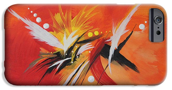 Splash Of Imagination IPhone Case by Art Spectrum