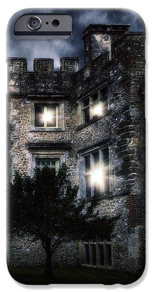 Spooky Castle IPhone Case by Joana Kruse