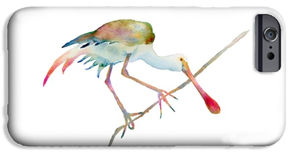 Spoonbill  IPhone 6s Case by Amy Kirkpatrick