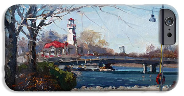 Spring At Port Credit IPhone Case by Ylli Haruni