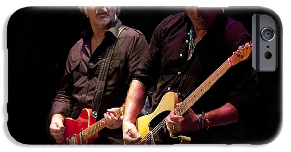 Springsteen And Grushecky IPhone Case by Jeff Ross