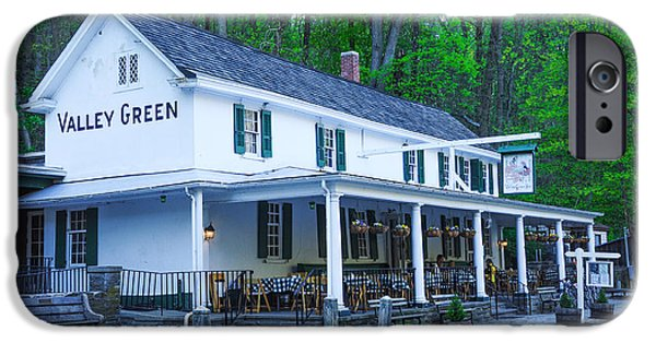 Springtime At The Valley Green Inn IPhone Case by Bill Cannon