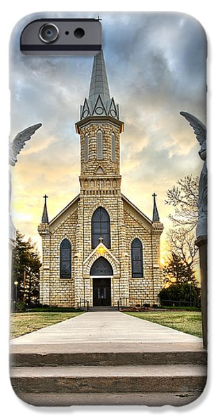 St. Catherine Church IPhone Case by Thomas Zimmerman