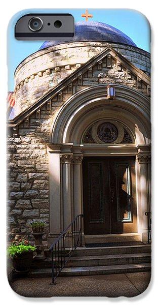 St Elizabeth's Catholic Church IPhone Case by Brian Hoover