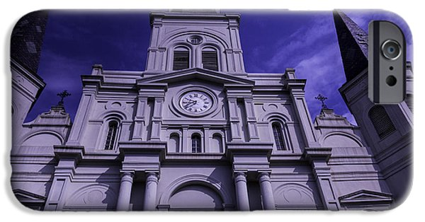St. Louis Cathedral New Orleans IPhone Case by Garry Gay