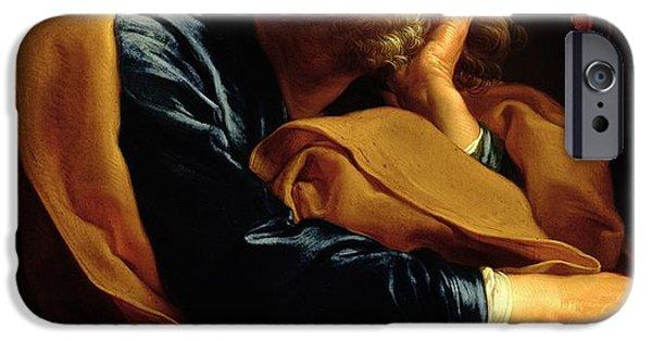 St Peter IPhone Case by Pompeo Girolamo Batoni