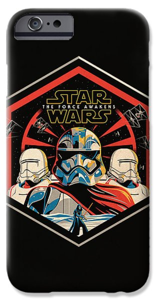 Star Wars - The Force Awakens IPhone Case by Fht