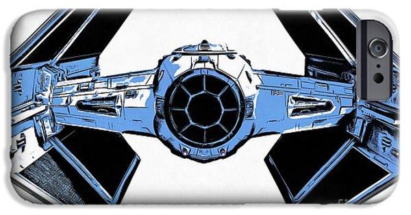 Star Wars Tie Fighter Advanced X1 IPhone 6s Case by Edward Fielding