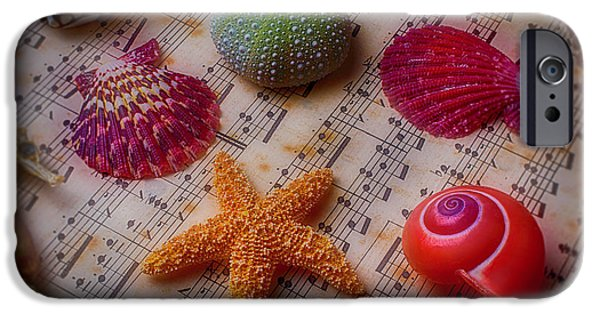 Starfish On Sheet Music IPhone 6s Case by Garry Gay