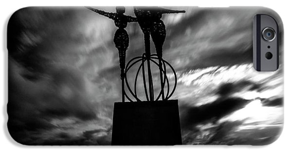 Statue IPhone Case by Stelios Kleanthous