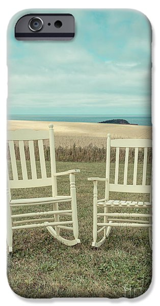 Stay Awhile Prince Edward Island IPhone Case by Edward Fielding