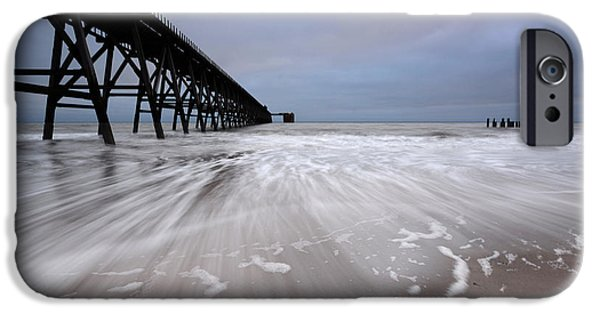 Steetley Pier IPhone Case by Stephen Smith