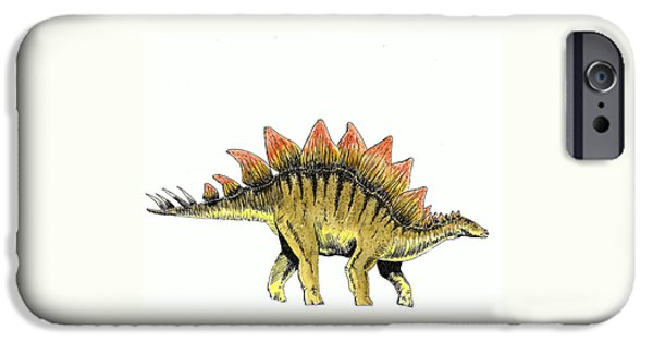 Stegosaurus IPhone 6s Case by Michael Vigliotti