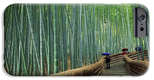 Stepped Walkway Passing IPhone Case by Panoramic Images