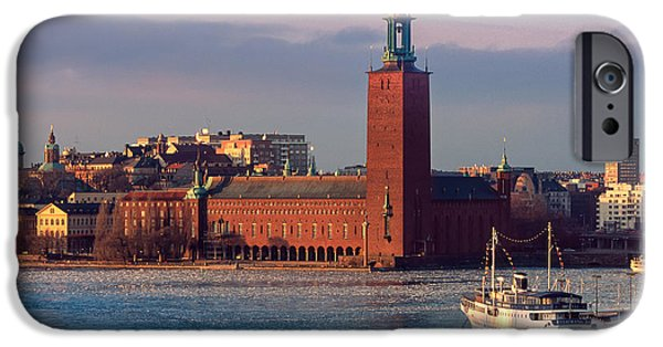 Stockholm City Hall IPhone Case by Inge Johnsson