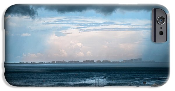 Storm On The Bay 2 IPhone Case by Frank Mari