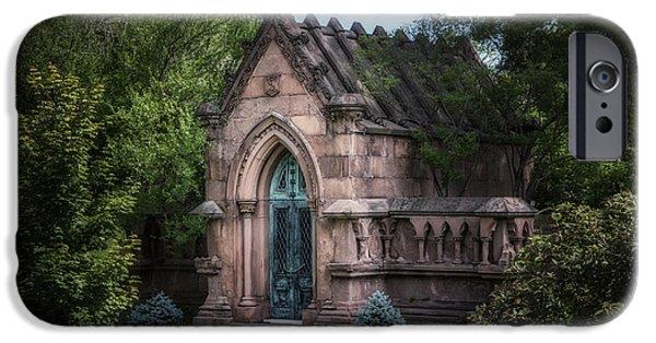 Strader Mausoleum IPhone Case by Tom Mc Nemar
