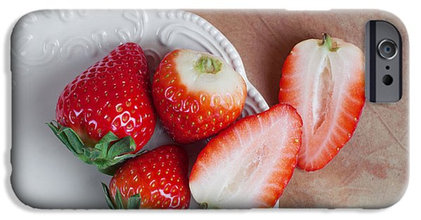 Strawberries From Above IPhone 6s Case by Tom Mc Nemar