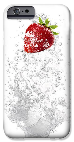 Strawberry Splash IPhone 6s Case by Marvin Blaine