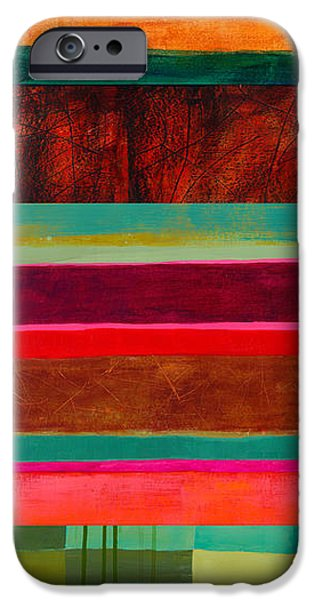 Stripe Assemblage 1 IPhone 6s Case by Jane Davies