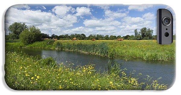 Sudbury Summer Meadows IPhone Case by Ian Merton
