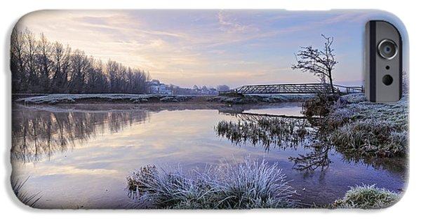 Sudbury Water Meadows IPhone Case by Ian Merton