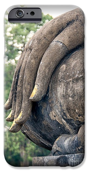 Sukhothai Buddha IPhone Case by Adrian Evans