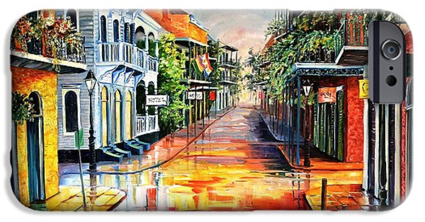 Summer Day On Royal Street IPhone Case by Diane Millsap