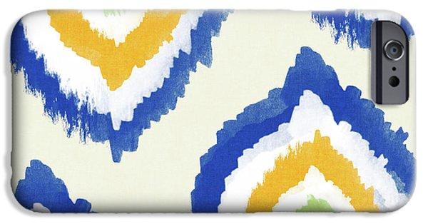 Summer Ikat- Art By Linda Woods IPhone 6s Case by Linda Woods